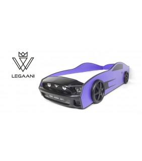 საბავშვო საწოლი მანქანა ლურჯი